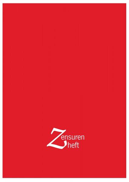 Zensurenheft A4