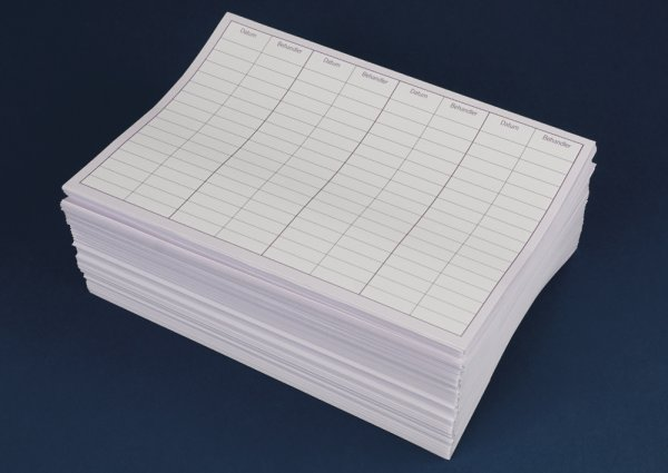 Patienten-Karteitaschen kurz, 100 Stück