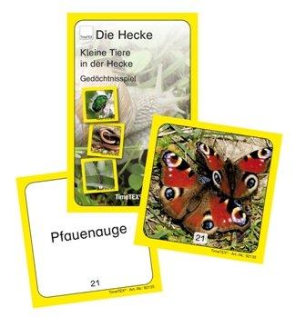 Kartenspiel Kleine Tiere in der Hecke