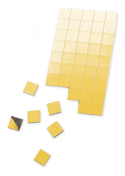Magnet-Quadrate selbstklebend 10x10mm, 200-tlg.